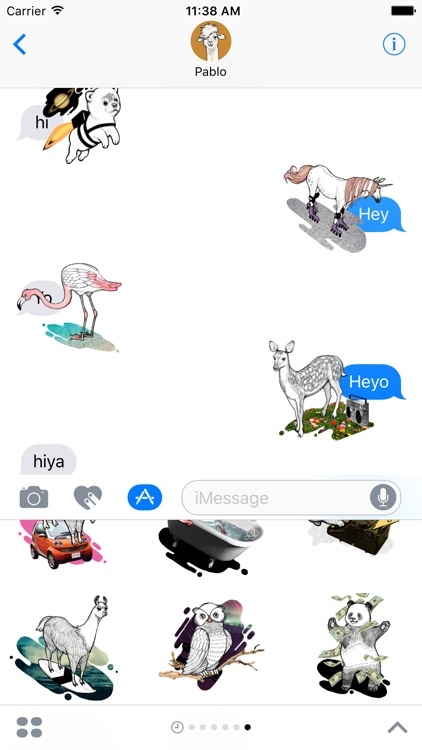 Animos - Animated animal stickers for iMessage