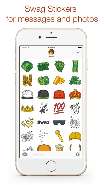 Swag Stickers for iMessage