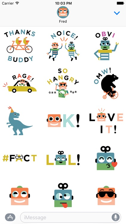 Fossil Stickers screenshot-2