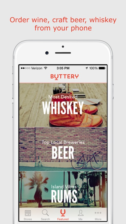 Buttery - Beer, Wine, Alcohol, Liquor Delivery