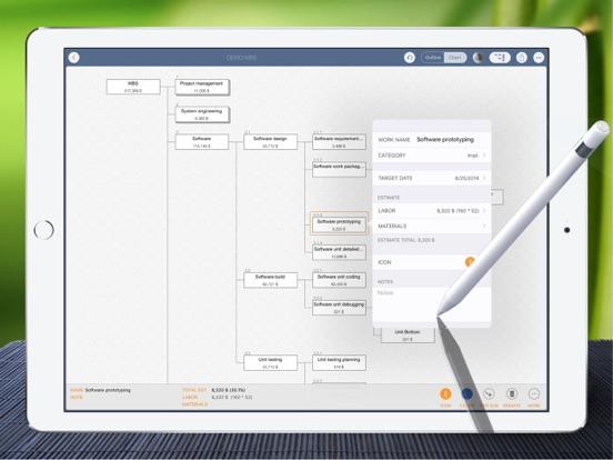 WBS - Project Work Management Screenshots