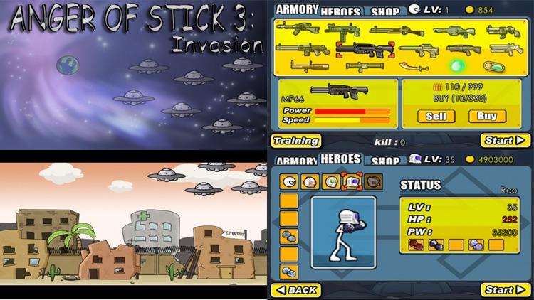 AngerOfStick3: Invasion