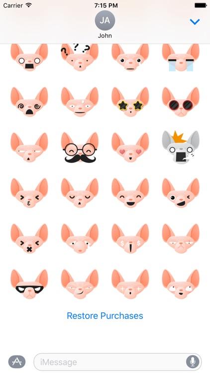 Kitty Emojis screenshot-3
