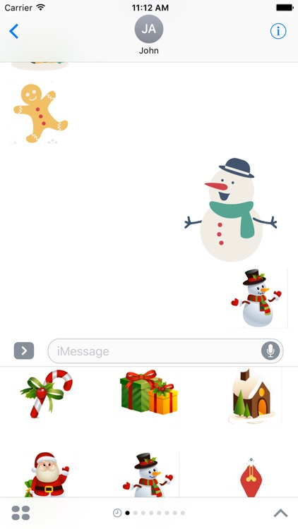 Christmas Stickers Pack For iMessage