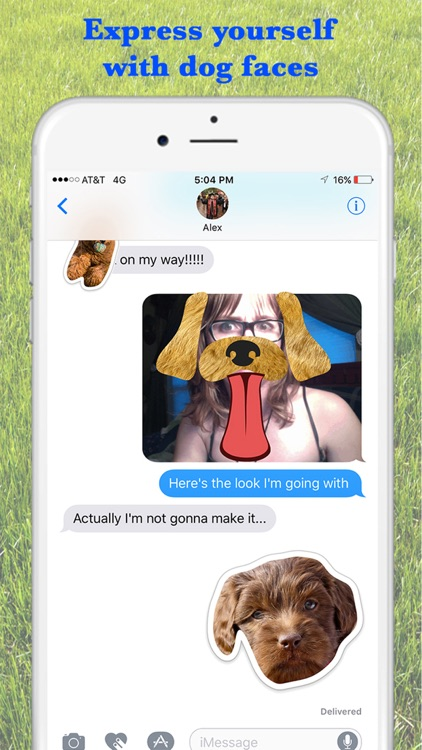 Louie - Dog Stickers for iMessage screenshot-3
