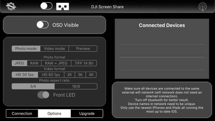 DJI Screen Share - Mavic, Phantom 3/4 Inspire 1/2