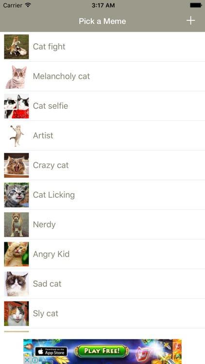 Funny Cat Make Memes