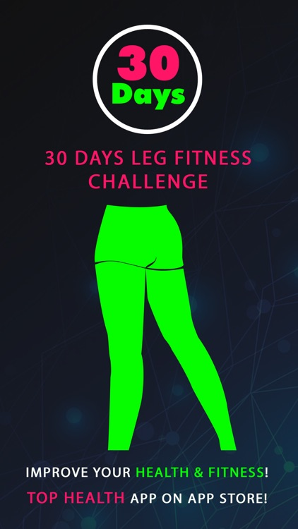 30 Day Leg Fitness Challenges ~ Daily Workout Pro screenshot-0