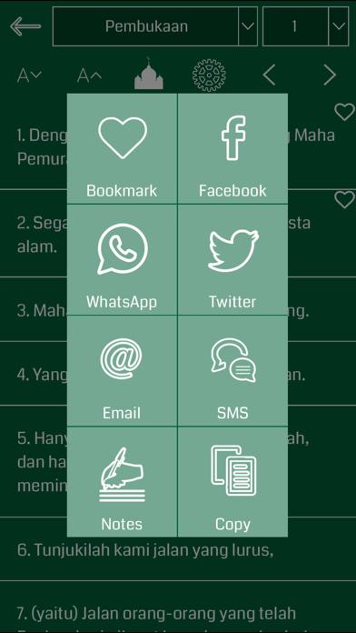 Indonesian Quran screenshot three