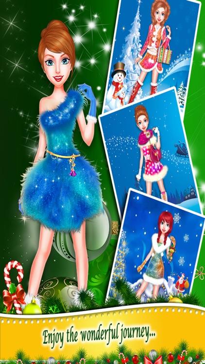 Christmas Beauty Princess Salon screenshot-3