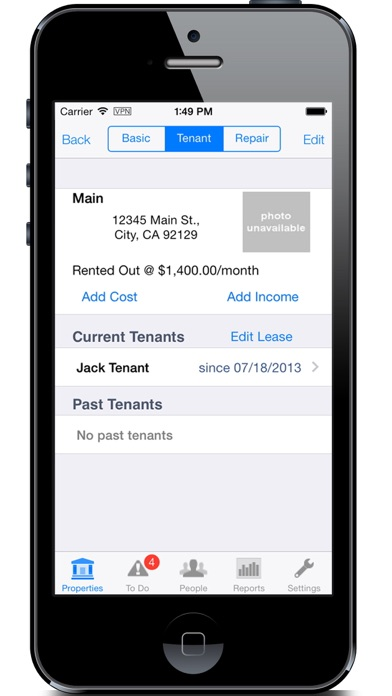 Smallandlord - Property Management for Small Landlords screenshot