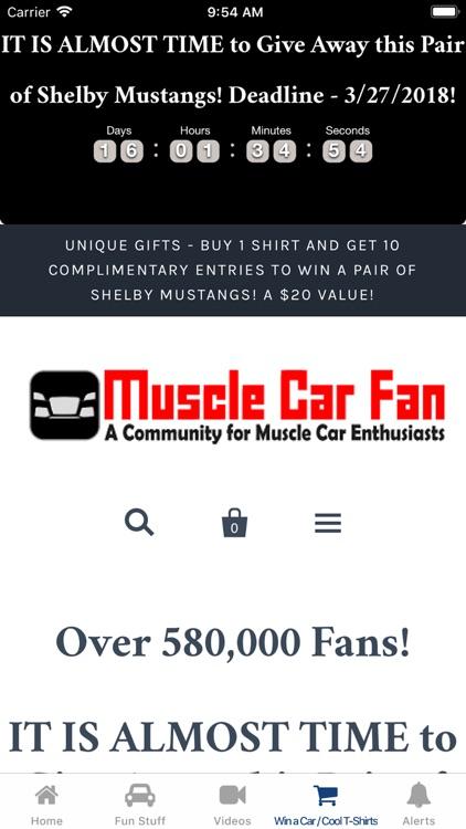 Muscle Car Fan screenshot-4