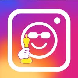 Insta.Emoji celebrity face.s stickers photo editor