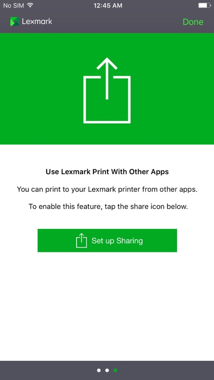 Lexmark Mobile Print screenshot-0