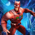 Panther Superhero in Battle icon
