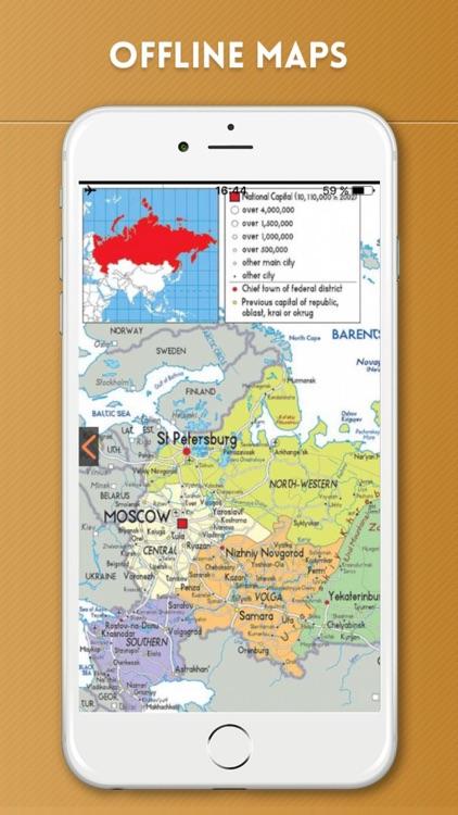 Russia Travel Guide and Offline Street Map screenshot-4