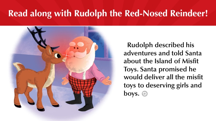 Rudolph Red-Nosed Reindeer screenshot-0