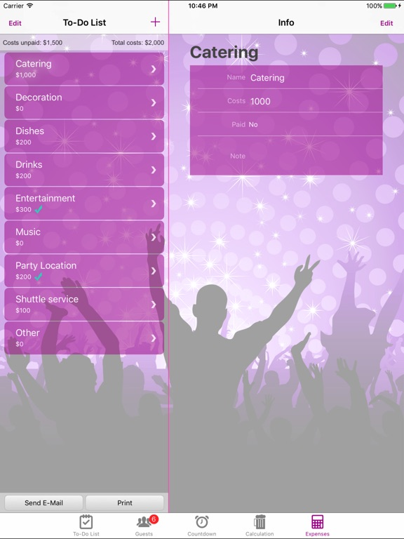 party event planner pro app price drops