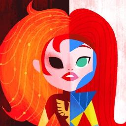 Superhero Mutant Wallpapers & Stickers for X-Men