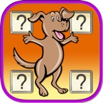 Cute Dog IQ matching games for toddler