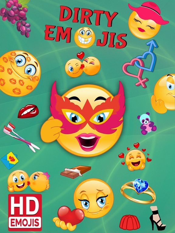 Dirty Emoji Adult Icons And Flirty Emoticons Ios App Download