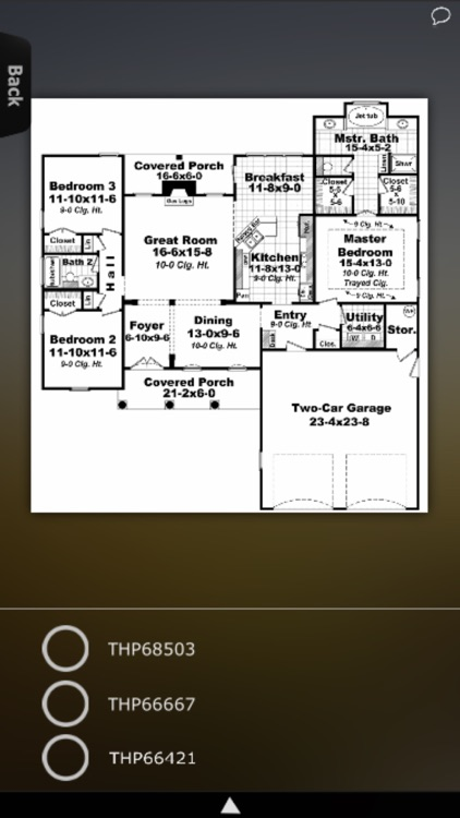 House Plans - Traditional