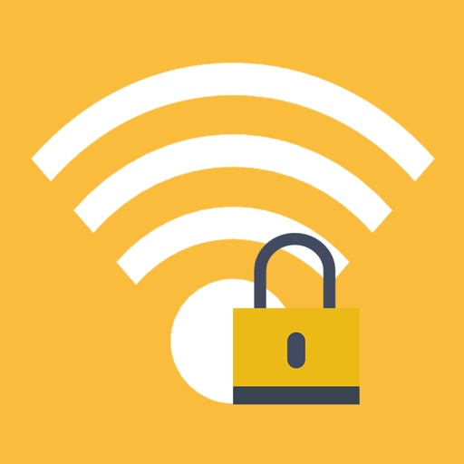 Wifi password. iOS App