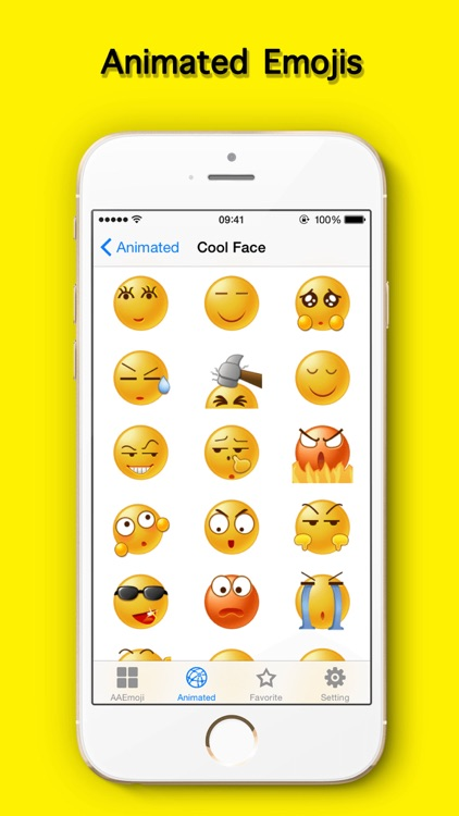 AA Emoji Keyboard - Animated Smiley Me Adult Icons