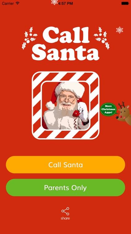 Call Santa Claus Christmas - Parents Catch Wish