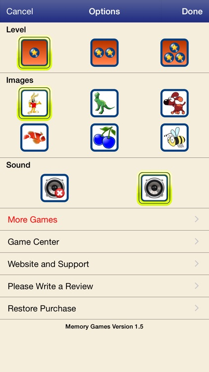 Memory Games with Animals screenshot-3