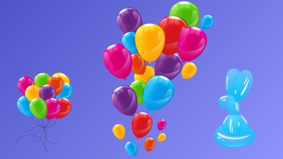 Animated Balloons for iMessageScreenshot of 3