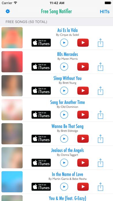 Free Song Notifier for iTunes - Revenue & Download estimates