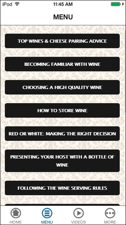 The Ultimate Guide To Pairing Wine with Cheese screenshot-4