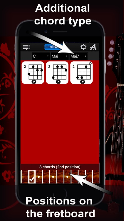 Mandolin Chords Compass Lite: lots of chord charts screenshot-3