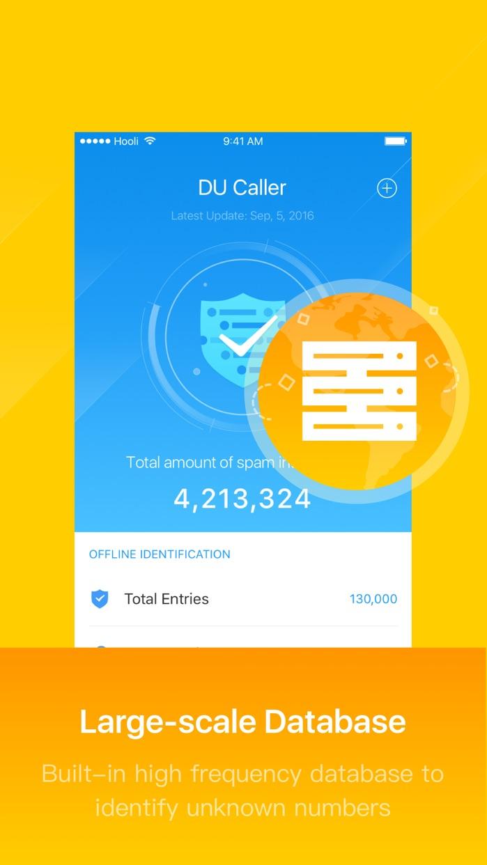 DU Caller: Caller ID & Spam Phone Blocker Screenshot