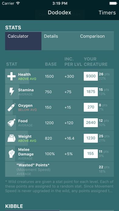 Dododex: ARK Survival Evolved Screenshot