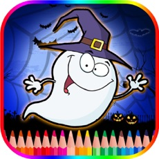 Activities of Halloween Coloring Book For Kids - Free Color Page