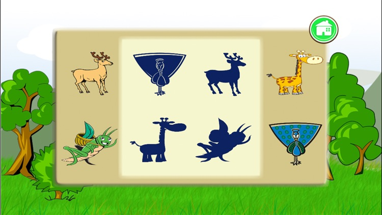 Wildlife Shape Puzzle screenshot-4