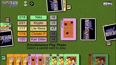 Screenshot #1 pour Reiner Knizia's Modern Art: The Card Game