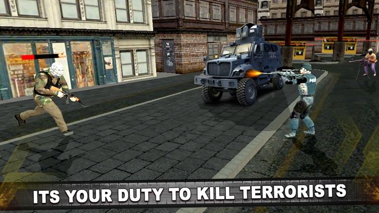 Police Anti Terrorist SWAT Shooter in Crime City screenshot-4