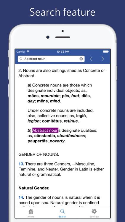 New Latin Grammar - Charles E. Bennett screenshot-3