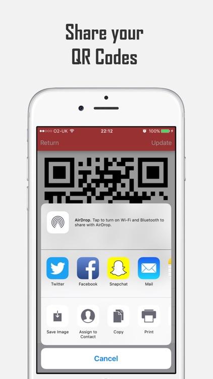 inQRedible - QR Code Reader and Creator screenshot-3