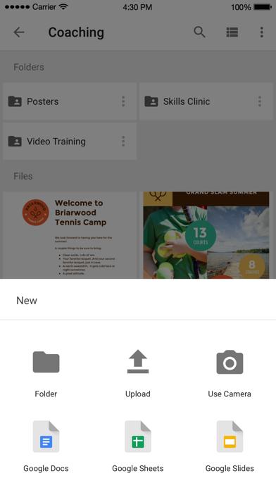 Google Drive – хранилище Скриншоты4