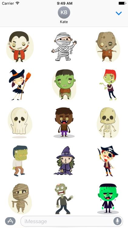 Halloween Characters - Fx Sticker