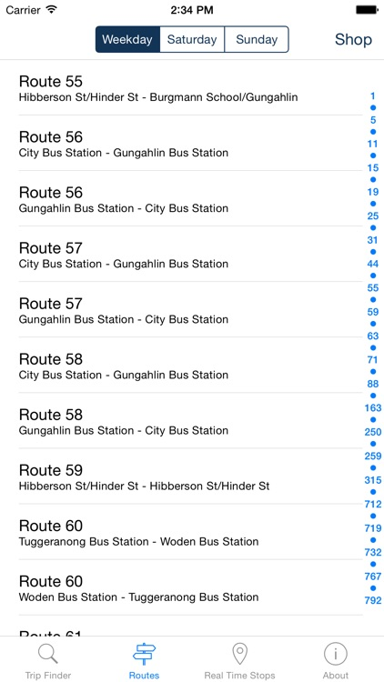 Bus Trips ACT Canberra screenshot-3