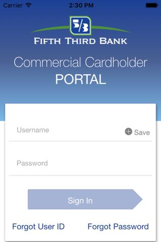 Fifth Third Commercial Card screenshot 1