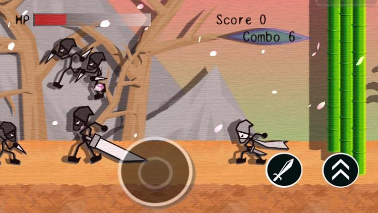 Ninja Stick Man Fighter screenshot-3