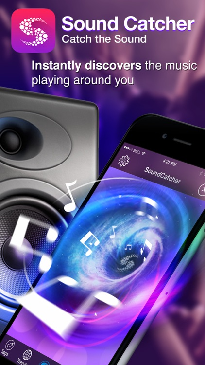 Sound Catcher Free - instantly identify songs playing around you