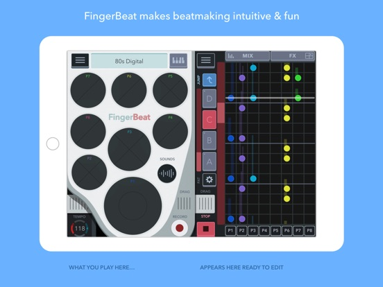 FingerBeat Screenshots