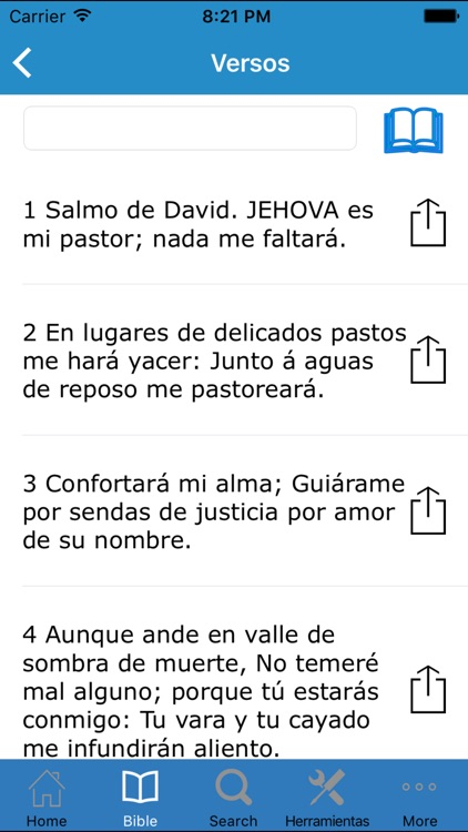 Santa Biblia Reina Valera Antigua screenshot-1